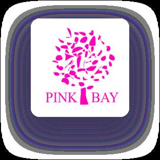 pink bay logo