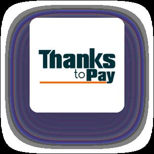thanks to pay logo