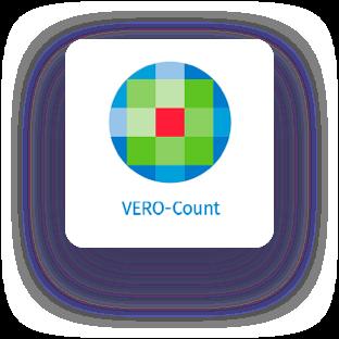 VERO count logo