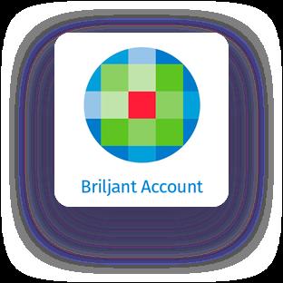 briljant account logo